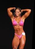 De dominante lichaamsbouw van Christine Holland-Morrow royalty-vrije stock foto