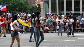 De Dominicaanse de Dagparade van 2014 in Manhattan 9 Stock Afbeelding