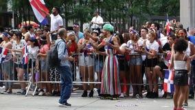 De Dominicaanse de Dagparade van 2014 in Manhattan 13 Royalty-vrije Stock Afbeeldingen