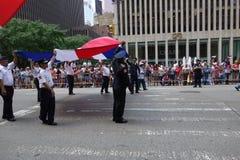 De Dominicaanse de Dagparade van 2014 in Manhattan 35 Royalty-vrije Stock Afbeeldingen