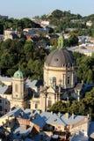 De Dominicaanse kerk en het klooster in Lviv Royalty-vrije Stock Foto's