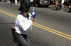De Dominicaanse Parade van de Dag Royalty-vrije Stock Afbeeldingen