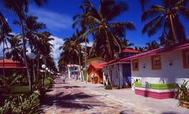 De Dominicaanse Republiek van het het stranddorp van Puntacana | De Toerist van Puntacana Royalty-vrije Stock Foto's