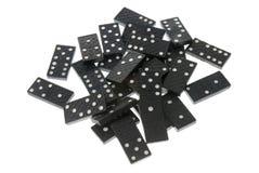 De domino's sluiten omhoog Royalty-vrije Stock Foto