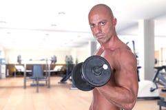 De domoor van de bodybuilder Stock Afbeelding
