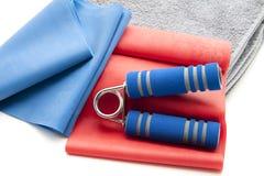 De domoor van de vinger met handdoek Royalty-vrije Stock Foto's