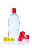 De domoren van de fles en maatregelenband Stock Afbeelding