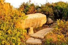 De Dongao-Eiland kustertsader Stock Afbeelding