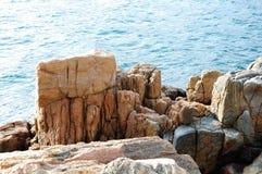 De Dongao-Eiland kustertsader Stock Foto
