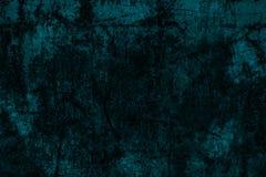 De donkerblauwe achtergrond van de grungemuur Royalty-vrije Stock Foto