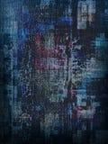 De donkerblauwe Achtergrond van het Canvas Royalty-vrije Stock Foto's