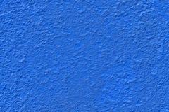 De donkerblauwe achtergrond van de muurtextuur Stock Fotografie