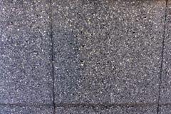 De donkerblauwe dichte omhooggaande van de het patroonoppervlakte van de graniettextuur abstracte achtergrond Stock Afbeelding