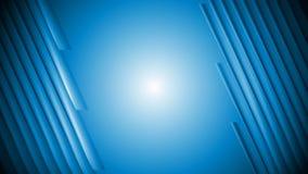 De donkerblauwe gestreepte videoanimatie van technologie vector illustratie