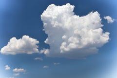 De donkerblauwe hemel Royalty-vrije Stock Foto
