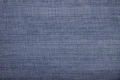 De donkerblauwe kleur van het textuurdenim Stock Foto's