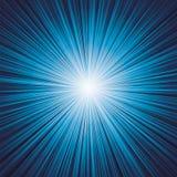 De donkerblauwe Vector van de kleurenuitbarsting stock illustratie