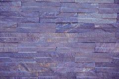 De donkere Achtergrond van de Bakstenen muurtextuur Stock Fotografie