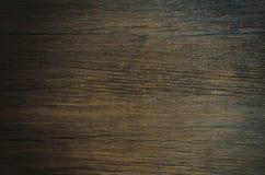 De donkere achtergrond van de bown grijze houten textuur Stock Afbeeldingen