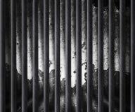 De donkere Achtergrond van de Cel van de Gevangenis Royalty-vrije Stock Fotografie