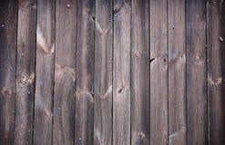 De donkere achtergrond van de grunge houten textuur. Stock Foto