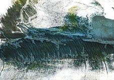 De donkere achtergrond van de lei grijze abstracte waterverf Royalty-vrije Stock Foto