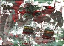 De donkere achtergrond van de lever abstracte waterverf Royalty-vrije Stock Foto's