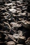 De donkere achtergrond van de steentextuur Stock Afbeelding