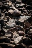 De donkere achtergrond van de steentextuur Royalty-vrije Stock Foto