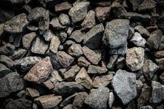 De donkere achtergrond van de steentextuur Royalty-vrije Stock Afbeelding