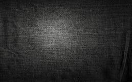 De donkere achtergrond van de stof Royalty-vrije Stock Fotografie