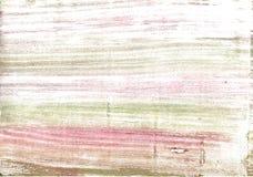 De donkere achtergrond van de vanille abstracte waterverf Stock Fotografie