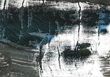 De donkere achtergrond van de wildernis groene abstracte waterverf Stock Fotografie