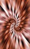 De donkere achtergrond van golvende strepen divergeert van het midden aan de randen Mooie vector Royalty-vrije Stock Afbeeldingen
