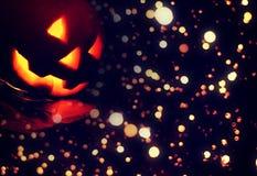 De donkere achtergrond van Halloween Royalty-vrije Stock Foto