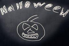 De donkere achtergrond van Halloween Royalty-vrije Stock Fotografie