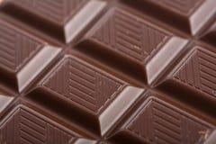 De donkere achtergrond van het chocoladeblok Royalty-vrije Stock Afbeeldingen