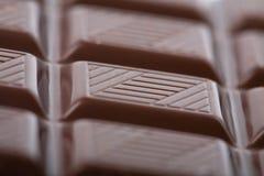 De donkere achtergrond van het chocoladeblok Royalty-vrije Stock Foto