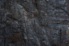 De donkere achtergrond van de het patroonaard van de stenentextuur Stock Afbeelding