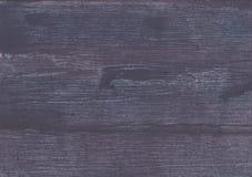 De donkere achtergrond van de lei grijze hand-drawn waterverf Stock Foto