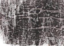 De donkere achtergrond van de lei grijze kleurrijke gewassen tekening Stock Afbeeldingen