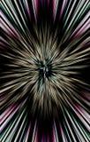 De donkere achtergrond van strepen divergeert van het midden aan de randen Uniek ontwerp Royalty-vrije Stock Fotografie