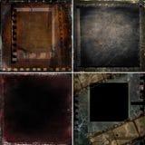 De donkere achtergronden van het filmontwerp Royalty-vrije Stock Foto's