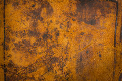 De donkere Antieke Oude Achtergrond van het Leer Grote textuurdetails Royalty-vrije Stock Afbeelding
