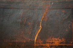 De donkere Antieke Oude Achtergrond van het Leer Grote textuurdetails Royalty-vrije Stock Fotografie