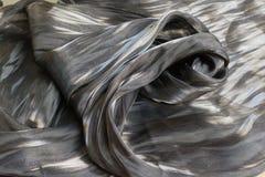 De donkere artistieke achtergrond van de stoffentextuur/Artistieke stof textur Stock Afbeeldingen