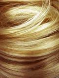 De donkere blonde achtergrond van de haartextuur Royalty-vrije Stock Foto