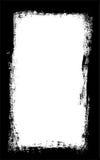 De donkere borstel strijkt grens vect vector illustratie