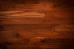 De donkere bruine achtergrond van de parket houten textuur Royalty-vrije Stock Foto's