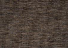 De donkere bruine achtergrond van de doek materiële textuur Royalty-vrije Stock Afbeelding